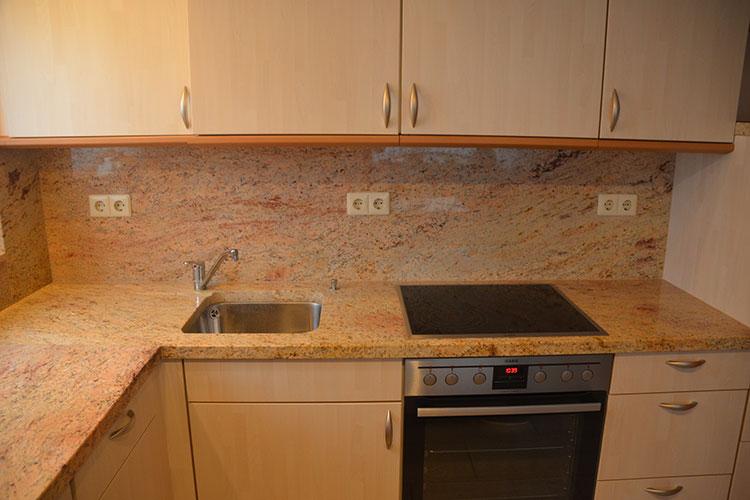 Gelbert-Natursteine - Küchenarbeitsplatte