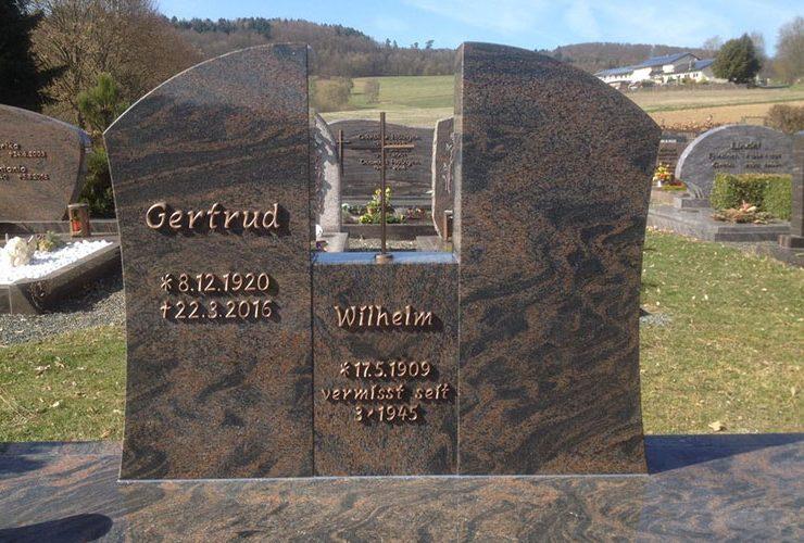 Gelbert Natursteine - Grabanlagen