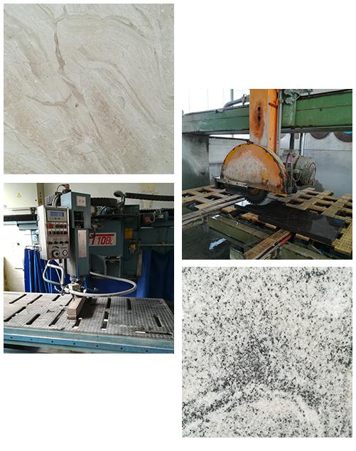 Gelbert Natursteine - Materialien und Werkzeug